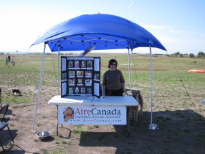 AireCanada  Booth @ Richmond Paws event